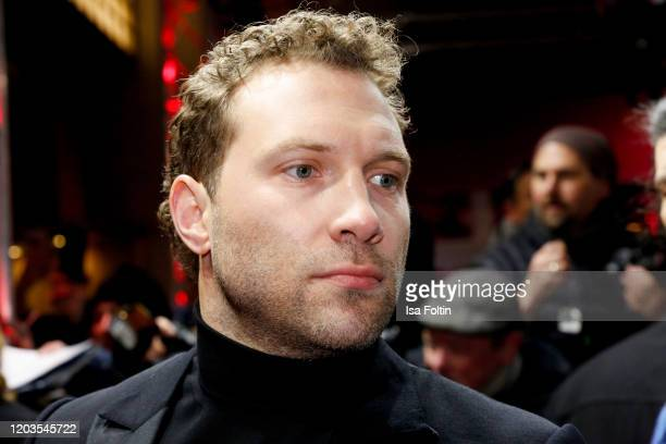 Actor Jai Courtney attends the Stateless premiere during the 70th Berlinale International Film Festival Berlin at Zoo Palast on February 26 2020 in...