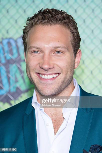 Actor Jai Courtney attends the Suicide Squad world premiere at The Beacon Theatre on August 1 2016 in New York City