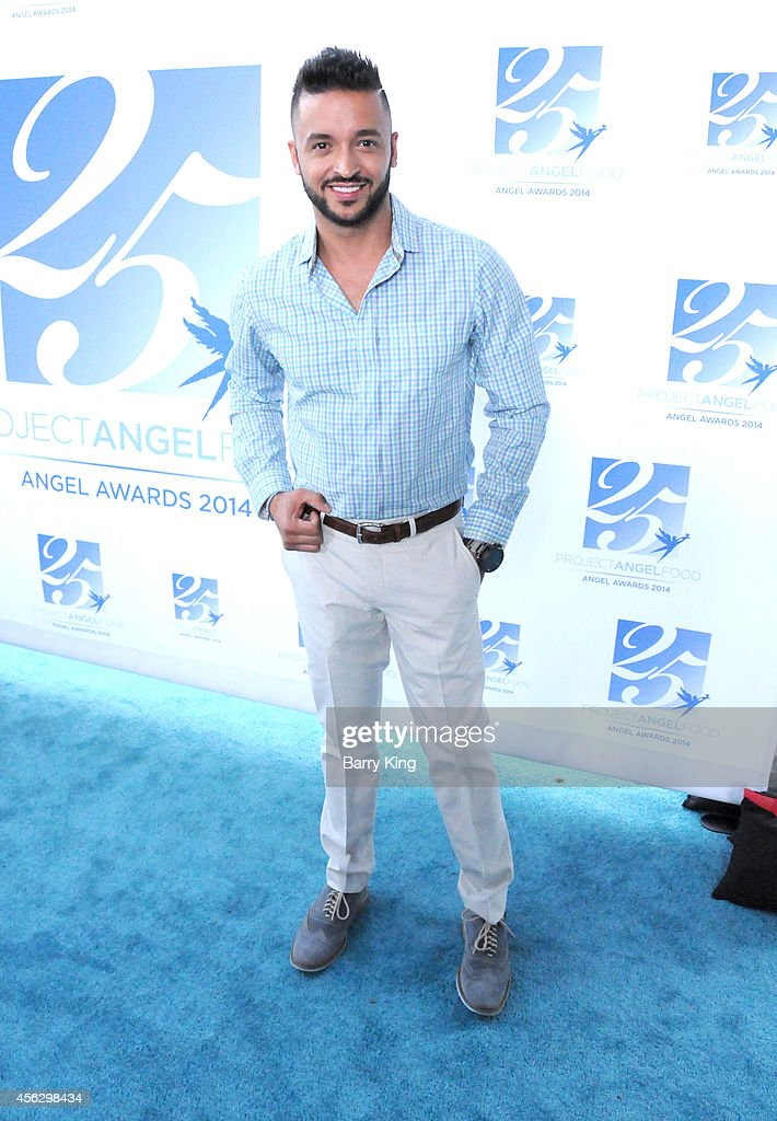Actor Jai Rodriguez arrives for Project Angel Food Celebrates 25 Years With 2014 Angel Awards at Project Angel Food on September 6, 2014 in Los Angeles, California.