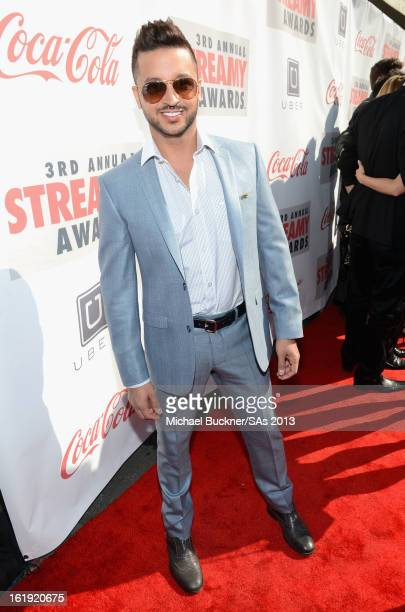 Actor Jai Rodriguez attends the 3rd Annual Streamy Awards at Hollywood Palladium on February 17 2013 in Hollywood California