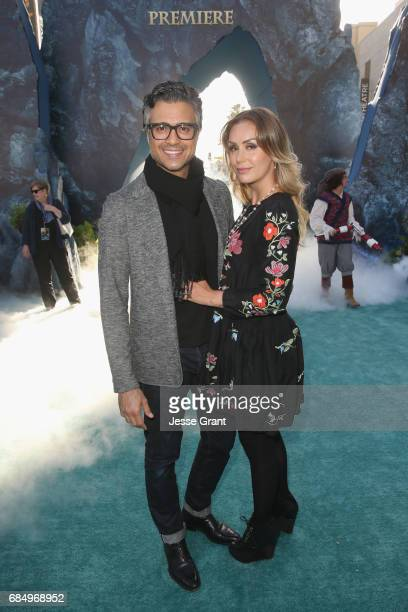 """Actor Jaime Camil and Heidi Balvanera at the Premiere of Disney's and Jerry Bruckheimer Films' """"Pirates of the Caribbean Dead Men Tell No Tales"""" at..."""