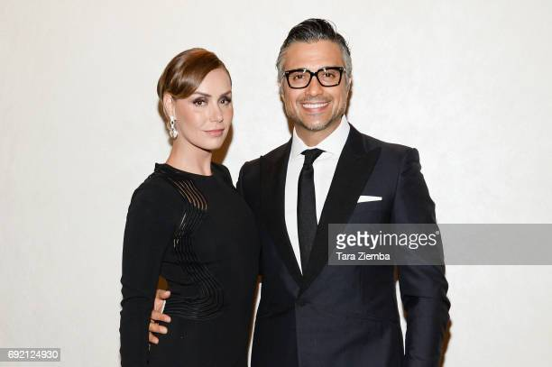 Actor Jaime Camil and his wife Heidi Balvanera attend Global Gift Foundation USA's Global Gift Gala at Loews Hollywood Hotel on June 3 2017 in...