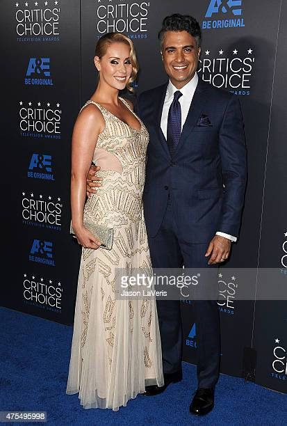 Actor Jaime Camil and wife Heidi Balvanera attend the 5th annual Critics' Choice Television Awards at The Beverly Hilton Hotel on May 31 2015 in...
