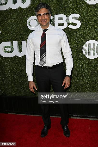 Actor Jaime Camil arrives at the CBS CW Showtime Summer TCA Party at the Pacific Design Center on August 10 2016 in West Hollywood California