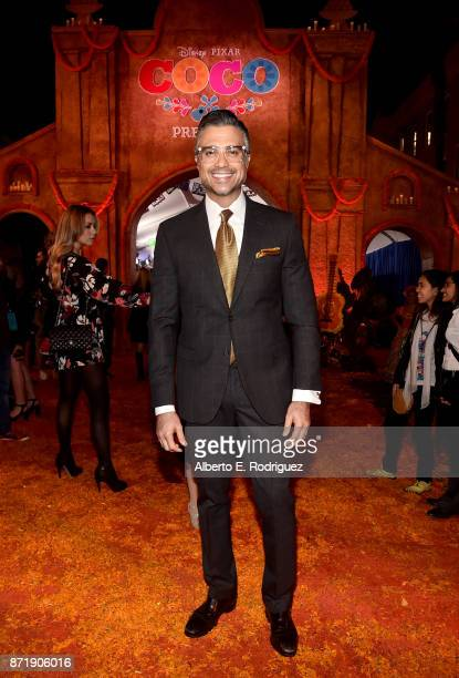 Actor Jaime Camil at the US Premiere of DisneyPixar's 'Coco' at the El Capitan Theatre on November 8 in Hollywood California