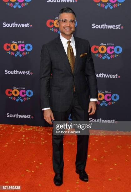 Actor Jaime Camil attends Disney Pixar's Coco premiere at El Capitan Theatre on November 8 2017 in Los Angeles California