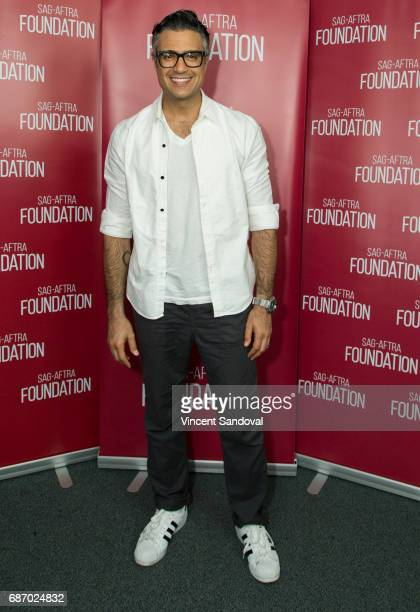Actor Jaime Camil attends SAGAFTRA Foundation's Conversations with Jane The Virgin at SAGAFTRA Foundation Screening Room on May 22 2017 in Los...