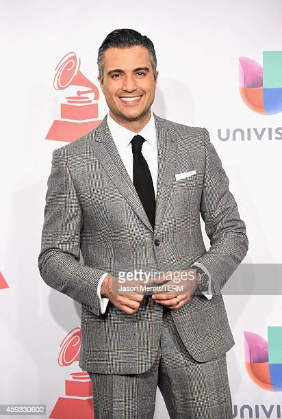 Actor Jaime Camil attends the 15th Annual Latin GRAMMY Awards at the MGM Grand Garden Arena on November 20 2014 in Las Vegas Nevada