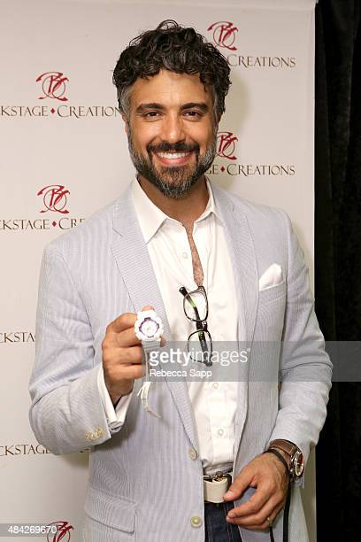 Actor Jaime Camil attends the Backstage Creations retreat at Teen Choice 2015 on August 16 2015 in Los Angeles California