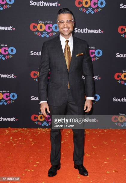 Actor Jaime Camil attends the premiere of Coco at El Capitan Theatre on November 8 2017 in Los Angeles California