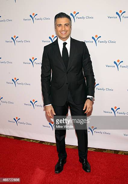 Actor Jaime Camil attends Venice Family Clinic's Silver Circle Gala at Regent Beverly Wilshire Hotel on March 9 2015 in Beverly Hills California