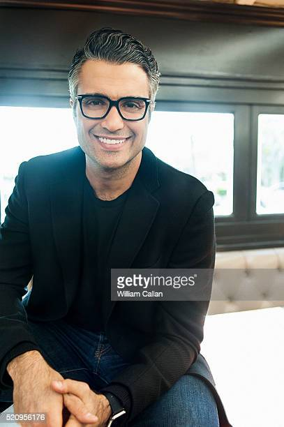 Actor Jaime Camil is photographed for The Wrap on February 19 2016 in Los Angeles California
