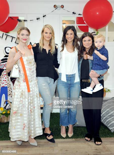 Actor Jaime King Baby2Baby founders Kelly Sawyer Patricof and Norah Weinstein actor Tiffani Thiessen and Holt Fisher Smith attend Little Marc Jacobs...