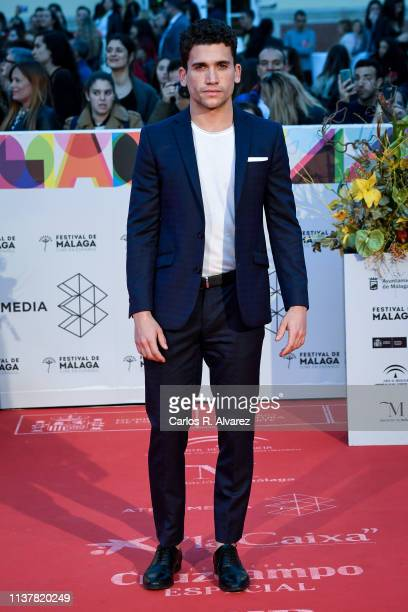 Actor Jaime Llorente attends the Malaga Film Festival 2019 closing day gala at Cervantes Theater on March 23 2019 in Malaga Spain
