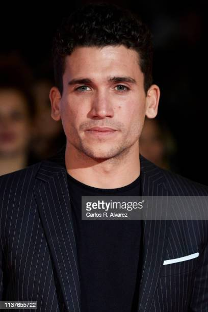 Actor Jaime Lorente attends the 'Retrospeciva' award ceremony during the 22th Malaga Film Festival on March 22 2019 in Malaga Spain