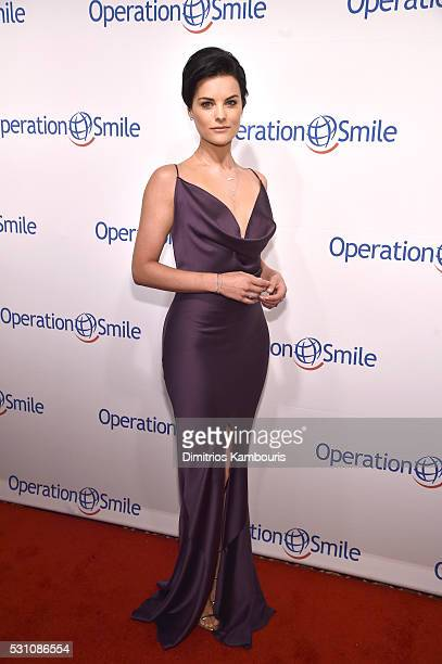 Actor Jaimie Alexander attends Operation Smile's 14th Annual Smile Gala At Cipriani 42nd St on May 12 2016 in New York City