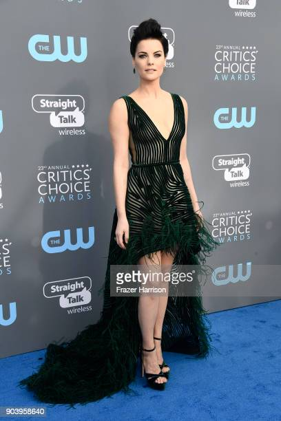 Actor Jaimie Alexander attends The 23rd Annual Critics' Choice Awards at Barker Hangar on January 11 2018 in Santa Monica California