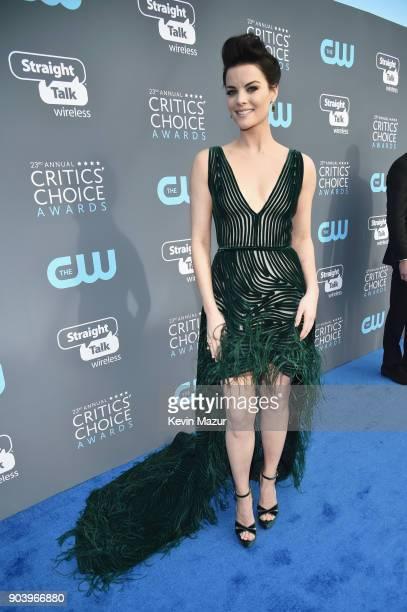 Actor Jaimie Alexander attends The 23rd Annual Critics' Choice Awards at Barker Hangar on January 11 2018 in Santa Monica California