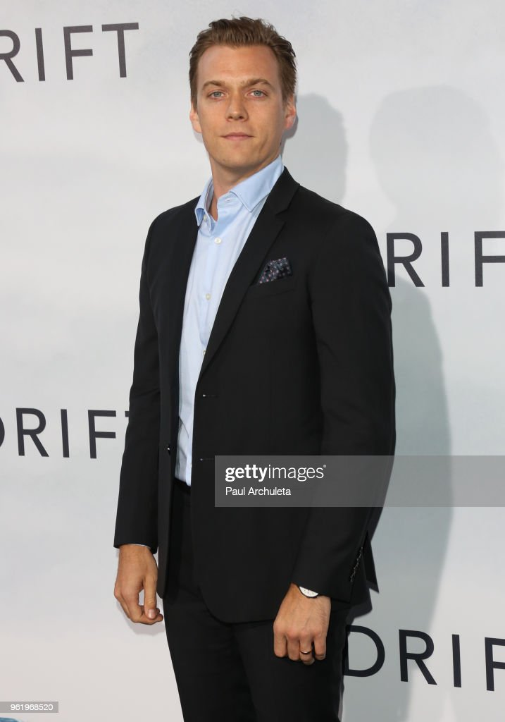 Actor Jake Abel attends the premiere of STX Films' 'Adrift' at Regal LA Live Stadium 14 on May 23, 2018 in Los Angeles, California.
