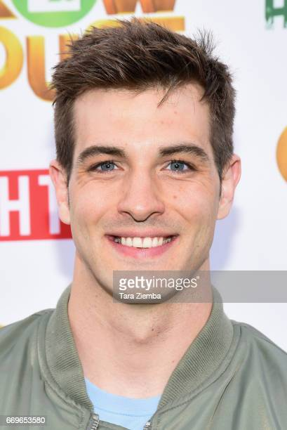 Actor Jake Allyn arrives at the premiere of 'Grow House' at Regency Bruin Theatre on April 17 2017 in Los Angeles California