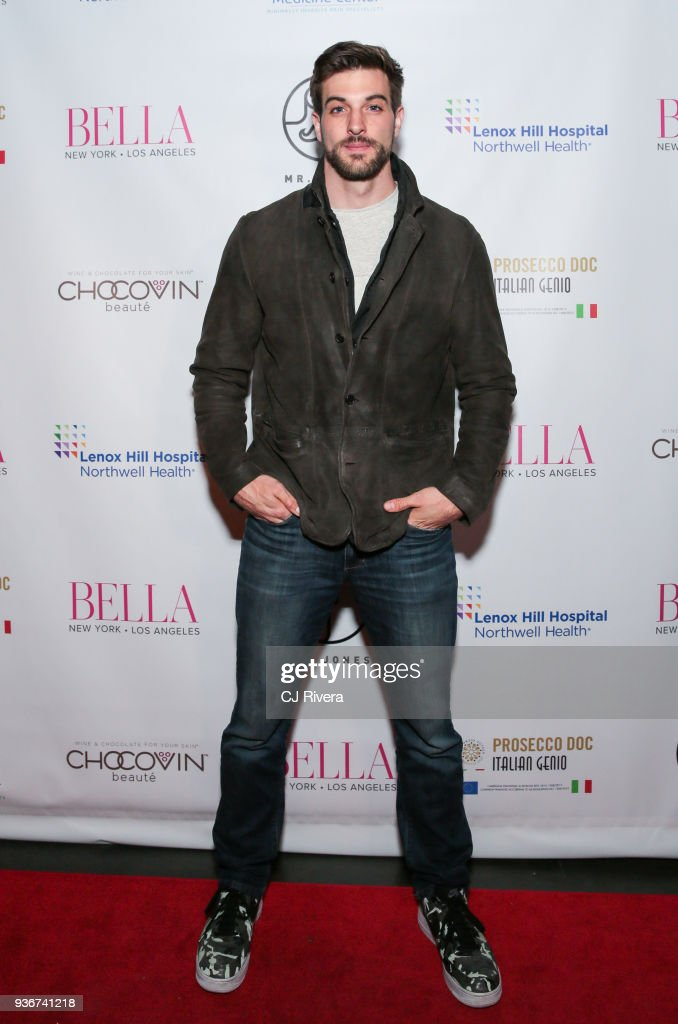 Actor Jake Allyn attends the Bella New York's Influencer Cover Party at Mr. Jones on March 22, 2018 in New York City.