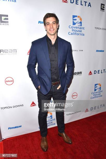 Actor Jake Allyn attends the Covenenat House of California 'An Evening of Dreams' gala at Dream Hotel on January 17 2018 in Hollywood California