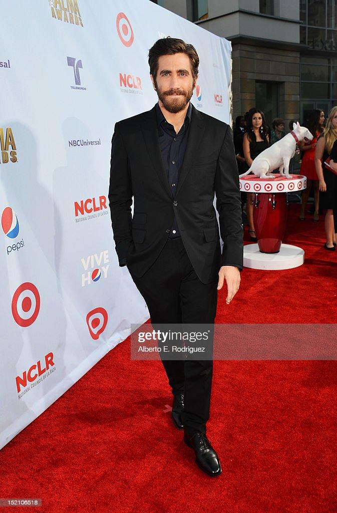 Actor Jake Gyllenhaal arrives at the 2012 NCLR ALMA Awards at Pasadena Civic Auditorium on September 16, 2012 in Pasadena, California.