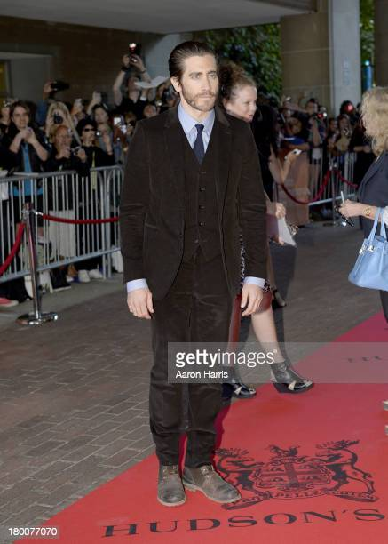 Actor Jake Gyllenhaal arrives at the Enemy Premiere during the 2013 Toronto International Film Festival at Ryerson Theatre on September 8 2013 in...