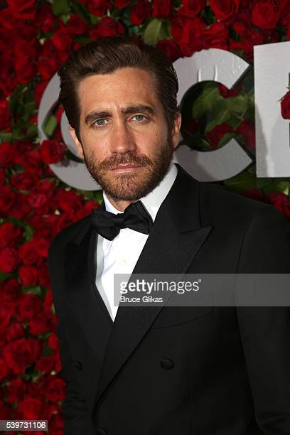 Actor Jake Gyllenhaal attends 70th Annual Tony Awards Arrivals at Beacon Theatre on June 12 2016 in New York City