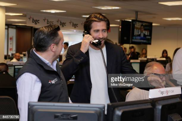 Actor Jake Gyllenhaal attends Annual Charity Day hosted by Cantor Fitzgerald BGC and GFI at BGC Partners INC on September 11 2017 in New York City