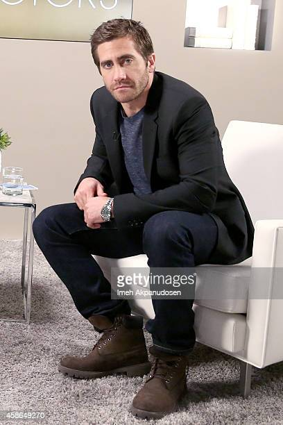 Actor Jake Gyllenhaal attends day one Variety Studio Actors On Actors presented by Samsung Galaxy on November 8 2014 in Los Angeles California
