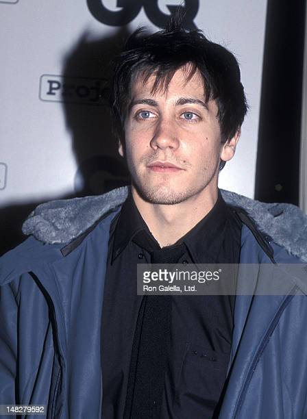 Actor Jake Gyllenhaal attends GQ Magazine Unveils Its Second Annual Leading Men of Hollywood March Issue on February 15 2001 at The Factory in West...