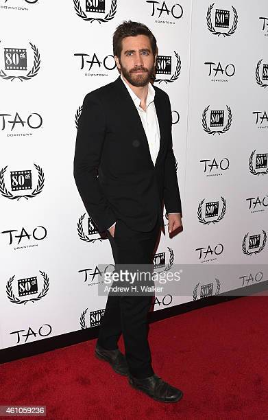 Actor Jake Gyllenhaal attends the 2014 New York Film Critics Circle Awards at TAO Downtown on January 5 2015 in New York City