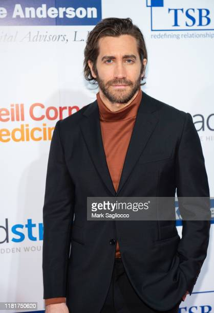 Actor Jake Gyllenhaal attends the 7th Annual Headstrong Gala at Pier Sixty at Chelsea Piers on October 17, 2019 in New York City.