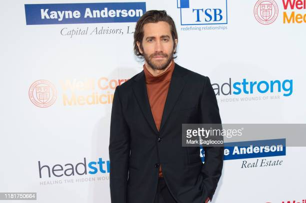 Actor Jake Gyllenhaal attends the 7th Annual Headstrong Gala at Pier Sixty at Chelsea Piers on October 17 2019 in New York City