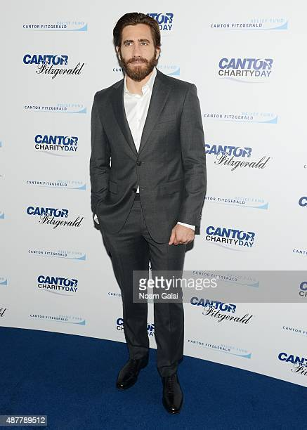 Actor Jake Gyllenhaal attends the annual Charity Day hosted by Cantor Fitzgerald and BGC at Cantor Fitzgerald on September 11 2015 in New York City