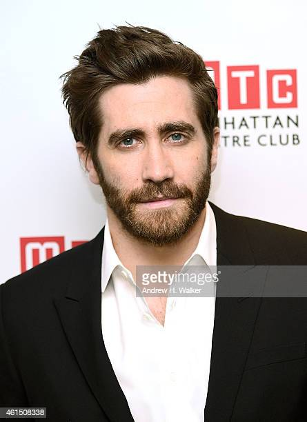 Actor Jake Gyllenhaal attends the 'Constellations' Broadway opening night after party at Urbo NYC on January 13 2015 in New York City