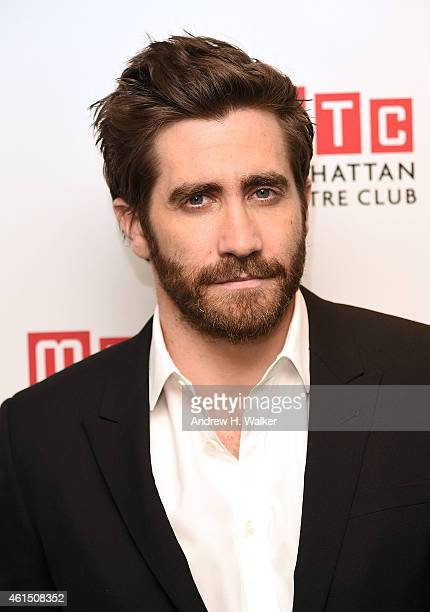 Actor Jake Gyllenhaal attends the Constellations Broadway opening night after party at Urbo NYC on January 13 2015 in New York City