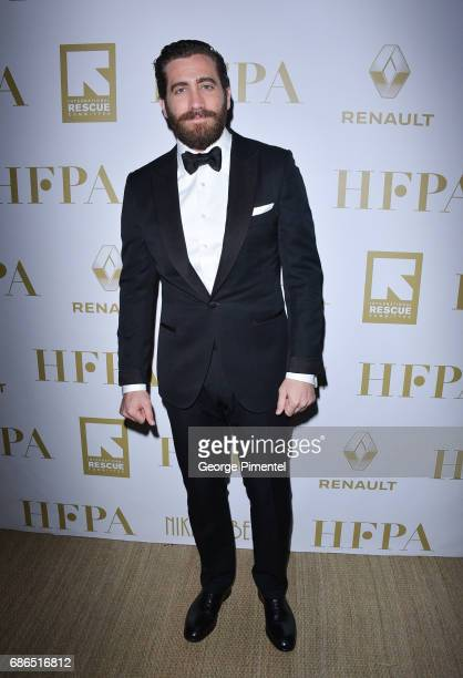 Actor Jake Gyllenhaal attends the Hollywood Foreign Press Association's 2017 Cannes Film Festival Event in honour of the International Rescue...