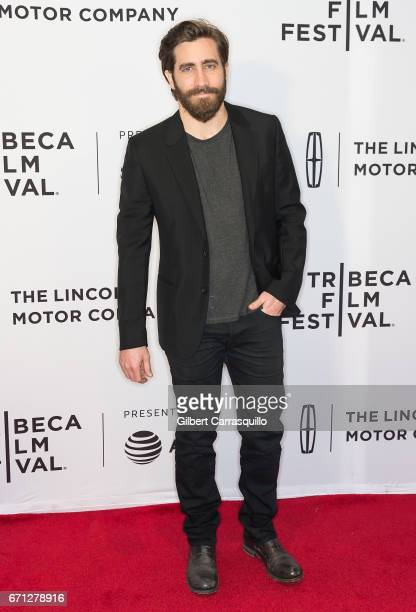 Actor Jake Gyllenhaal attends the 'Hondros' Premiere during 2017 Tribeca Film Festival at Cinepolis Chelsea on April 21 2017 in New York City