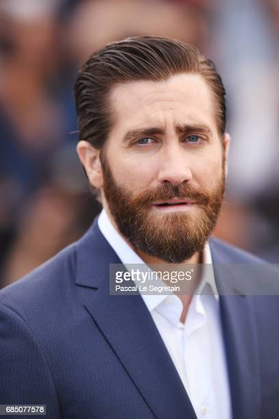 Actor Jake Gyllenhaal attends the Okja photocall during the 70th annual Cannes Film Festival at Palais des Festivals on May 19 2017 in Cannes France