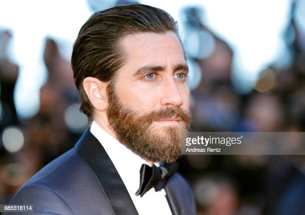 "Actor Jake Gyllenhaal attends the ""Okja"" screening during the 70th annual Cannes Film Festival at Palais des Festivals on May 19, 2017 in Cannes,..."