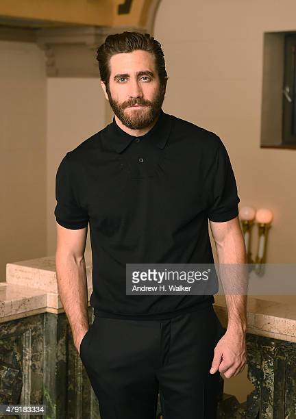 Actor Jake Gyllenhaal attends the opening night of the New York City Center Encores OffCenter production of 'Little Shop of Horrors' at Manhattan...