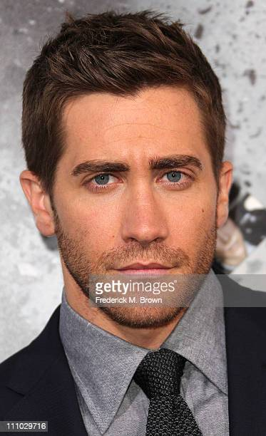 Actor Jake Gyllenhaal attends the premiere of Summit Entertainment's 'Source Code' at the Arclight Cinerama Dome on March 28 2011 in Los Angeles...