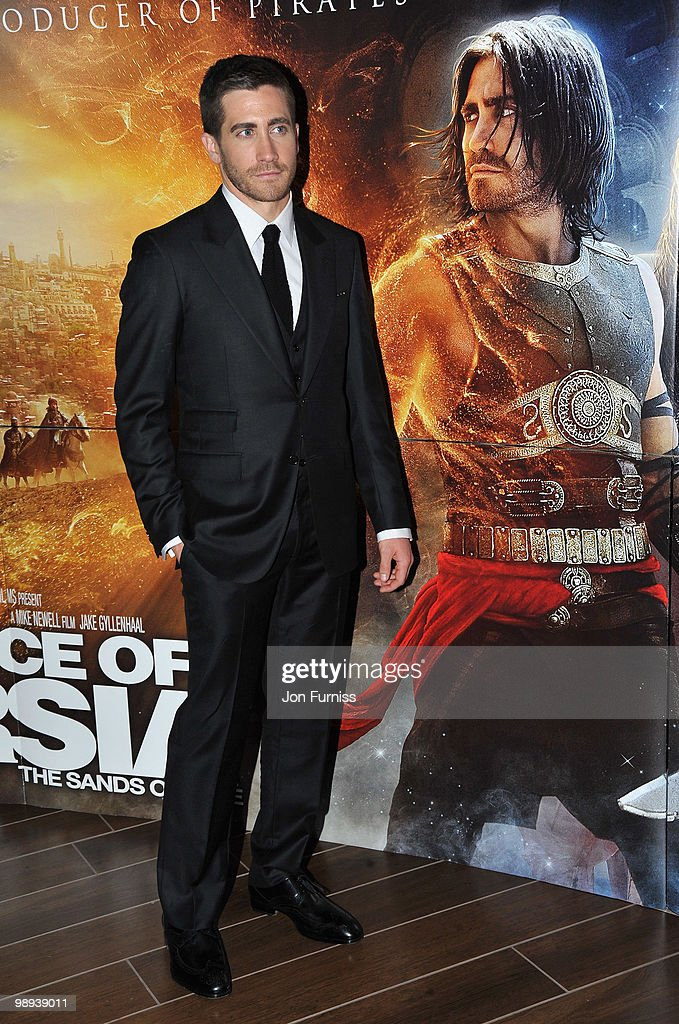 Actor Jake Gyllenhaal attends the 'Prince Of Persia: The Sands Of Time' world premiere at the Vue Westfield on May 9, 2010 in London, England.