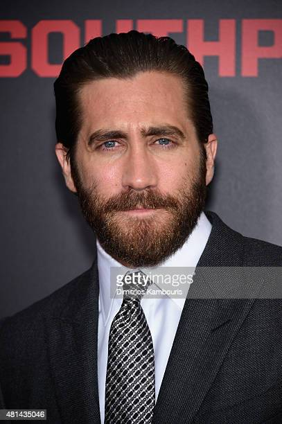 Actor Jake Gyllenhaal attends the 'Southpaw' New York Premiere at AMC Loews Lincoln Square on July 20 2015 in New York City
