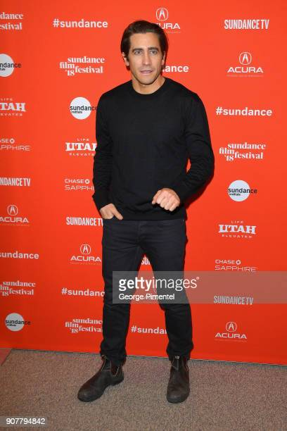 Actor Jake Gyllenhaal attends the 'Wildlife' Premiere during the 2018 Sundance Film Festival at Eccles Center Theatre on January 20 2018 in Park City...