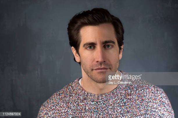 Actor Jake Gyllenhaal from 'Velvet Buzzsaw' is photographed for Los Angeles Times on January 27 2019 at the 2019 Sundance Film Festival in Salt Lake...