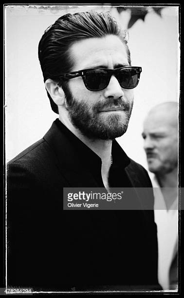 Actor Jake Gyllenhaal is photographed on May 15 2015 in Cannes France