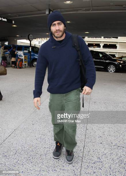 Actor Jake Gyllenhaal is seen on December 8 2013 in Los Angeles California